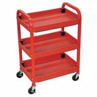 Adjustable Shelves Utility Cart