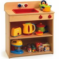 Value Line 2-In-1 Toddler Kitchen