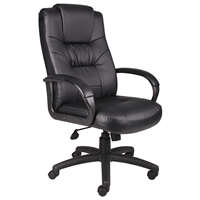 Executive Black LeatherPlus Chair