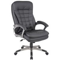 Executive High Back Pillow Top Chair