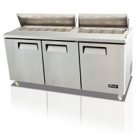 Competitor Series Big Top Sandwich Preparation Tables