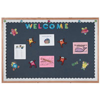 Designer Fabric Bulletin Boards