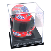 NASCAR Logo Mini Helmet Display Case