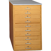 Drawer Taboret Unit