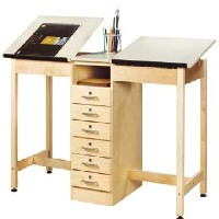 Multi-Station Art & Drafting Table