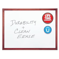 Premium DuraMax® Porcelain Magnetic Whiteboard