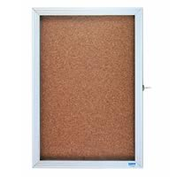 Economy Series Aluminum Enclosed Bulletin Boards