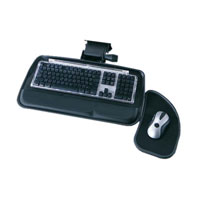 Ergo-Comfort® Low Profile Articulating Keyboard Arms
