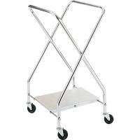 Folding Adjustable Hamper Stand System