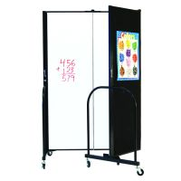 6'H Freestanding Portable Writeable Room Divider