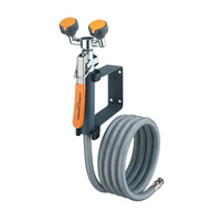 Wall Mounted Eyewash/8ft Drench Hose Unit