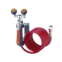 Wall Mounted Eyewash/12ft Drench Hose Unit