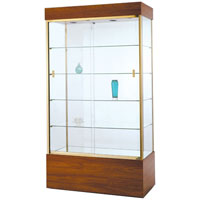 GL105 Rectangular Wall Display Case