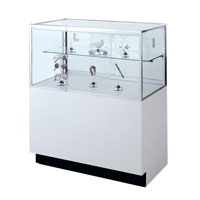 GL110 Half-Vision Jewelry Display Case