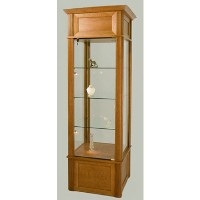 GL601 Square Tower Display Case