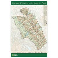 Glacier/Waterton Lakes National Park Poster