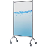 Egan™ V-Series GlassWrite Mobile Whiteboards