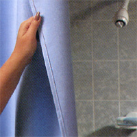 Sure-Chek™ Vinyl Shower Curtains