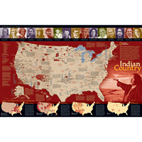 Indian Country Wall Maps