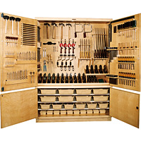 Large Tool Storage Cabinet