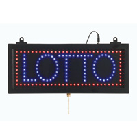 LOTTO - LED Window Sign