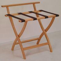 WallSaver Solid Oak Luggage Rack