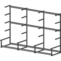 Metal Lumber Rack