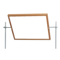 Mounted Tilting Mirror-Whiteboard