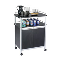 Mobile Beverage Service Cart
