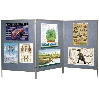Mobile Floor Display Panels