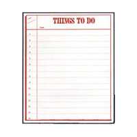 Things To Do Planner