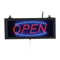 OPEN - LED Window Sign