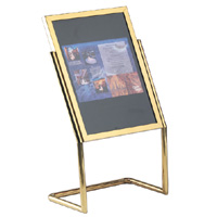Double Pedestal Sign and Poster Stands