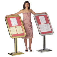 Ornamental Sign and Poster Stands