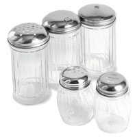 Plastic Base Shakers and Pourers