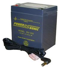 12V 5 Amp Rechargeable Battery Black Floor Lectern - Premier
