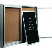 Removable Letter Panels for Enclosed Bulletin Boards