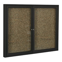 Economy Rubber-Tak Enclosed Bulletin Boards