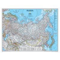 Russia Wall Map