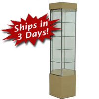 SFL901 Hexagonal Tower Display Case