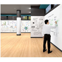 Top Product: Sharewall Full Wall Magnetic Whiteboard