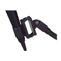 Shock Mount Mic Holder Black Floor Lectern - Premier