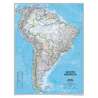 South America Wall Maps