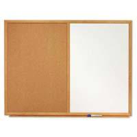 Quartet® Standard Combination Dry-Erase/Cork Bulletin Boards