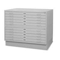 Steel Flat File Storage