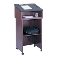 Tabletop Lectern and Lectern/Media Cart