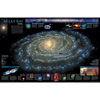 The Milky Way Wall Map - Space