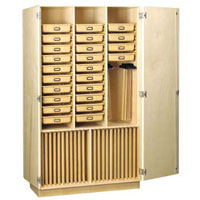 Tote Tray Drafting Cabinet
