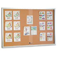 Sliding Glass Door Corkboards