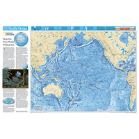 Wall Maps - Ocean Floor